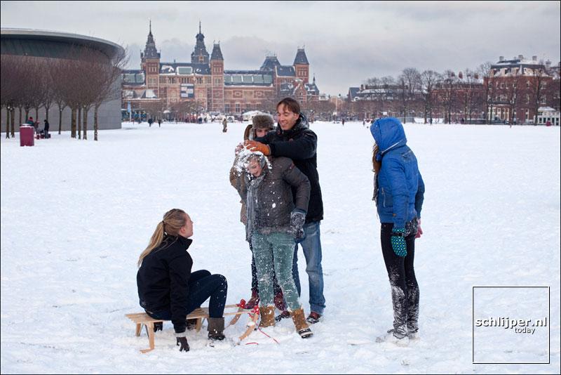 Nederland, Amsterdam, 3 februari 2012