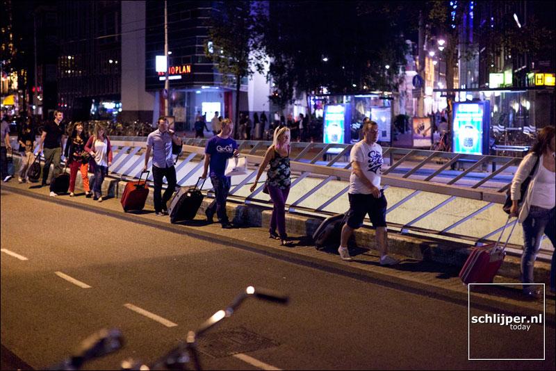 Nederland, Amsterdam, 10 augustus 2012