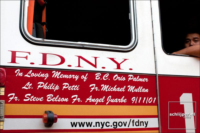 Verenigde Staten van Amerika, New York, 20 september 2012