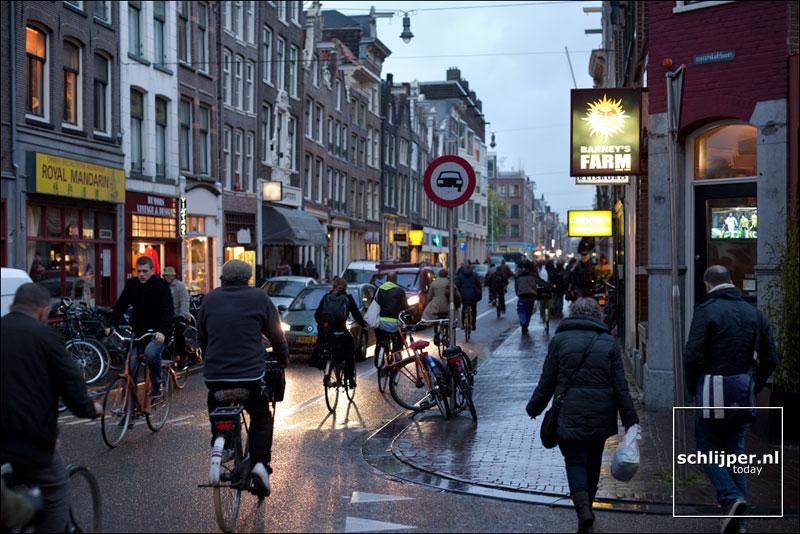 Nederland, Amsterdam, 6 november 2012