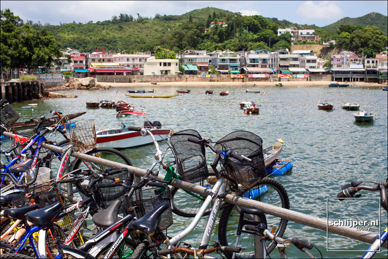 China, Hong Kong, Lamma Island, 8 juni 2013