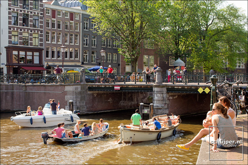 Nederland, Amsterdam, 7 juli 2013