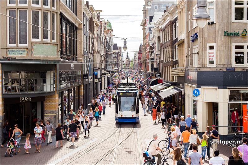 Nederland, Amsterdam, 28 juli 2013