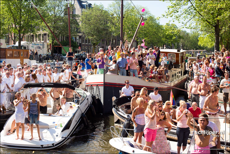 Nederland, Amsterdam, 3 augustus 2013