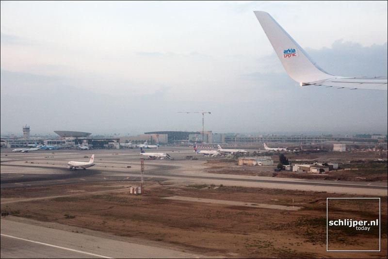Israel, Ben Gurion Airport, 14 augustus 2013