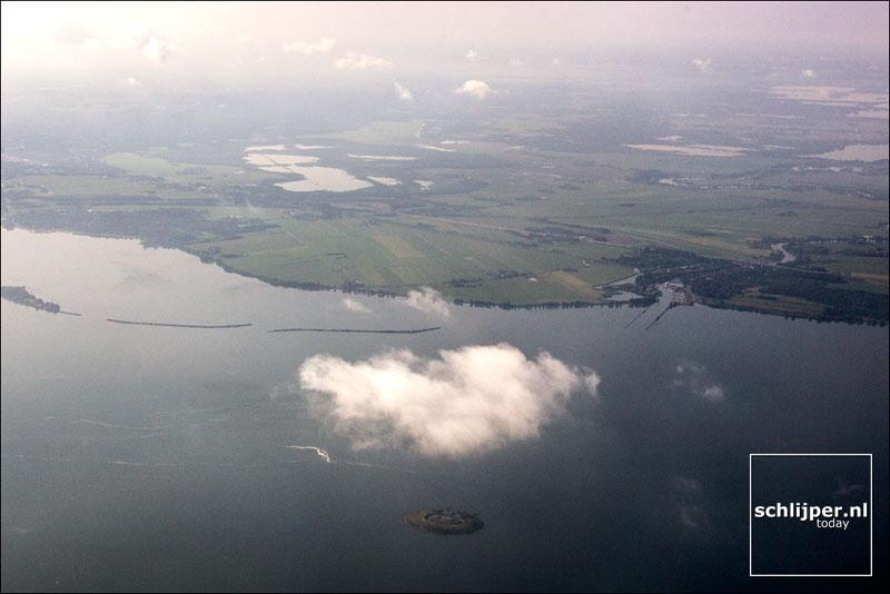 Nederland, Pampus, 14 augustus 2013