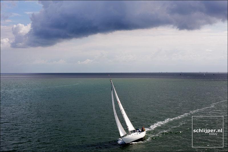 Nederland, Waddenzee, 20 augustus 2013