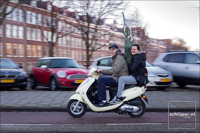 Nederland, Amsterdam, 10 december 2013
