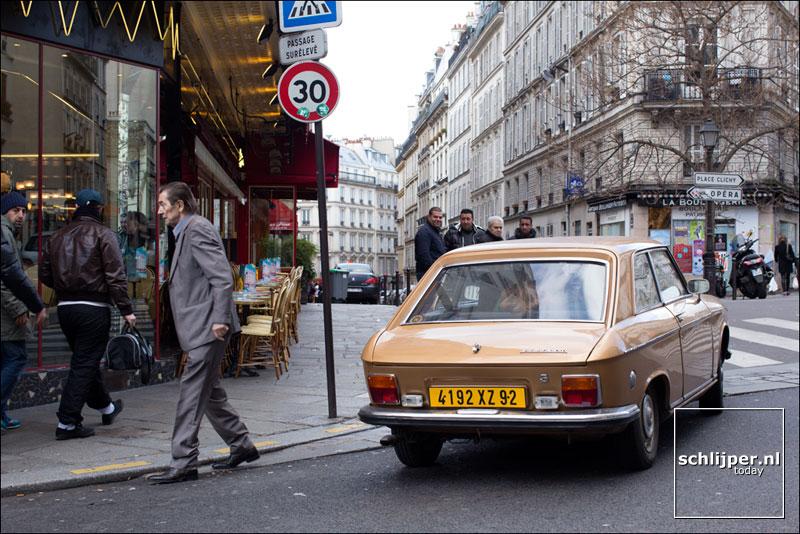 Frankrijk, Parijs, 19 januari 2014