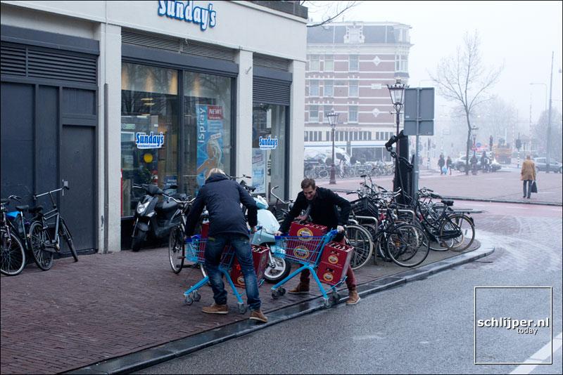 Nederland, Amsterdam, 23 januari 2014