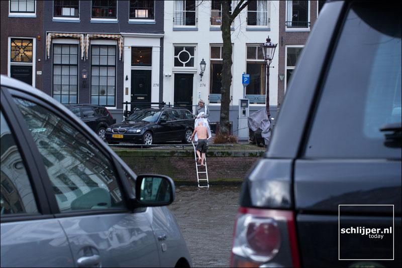 Nederland, Amsterdam, 15 februari 2014