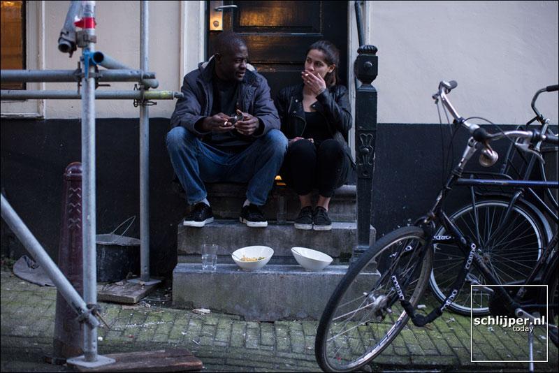 Nederland, Amsterdam, 22 februari 2014