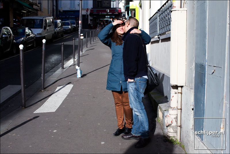 Frankrijk, Parijs, 23 februari 2014