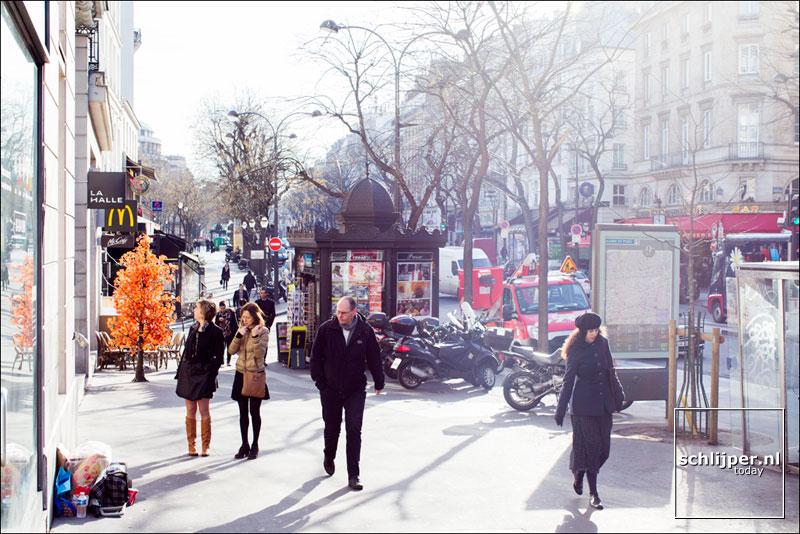 Frankrijk, Parijs, 24 februari 2014