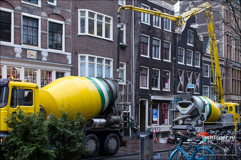Nederland, Amsterdam, 27 februari 2014