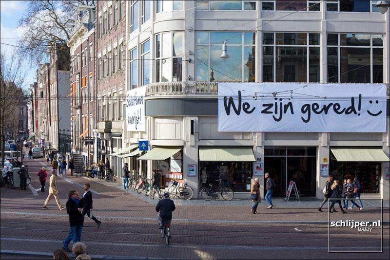 Nederland, Amsterdam, 15 maart 2014