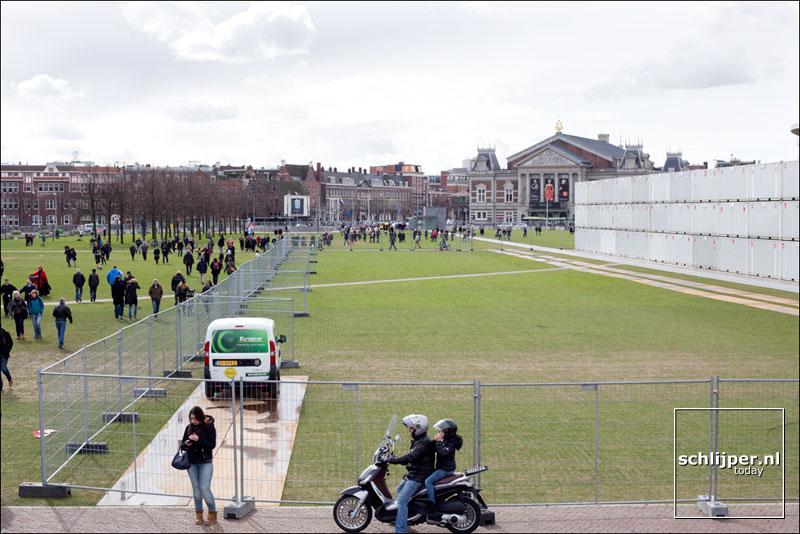 Nederland, Amsterdam, 22 maart 2014