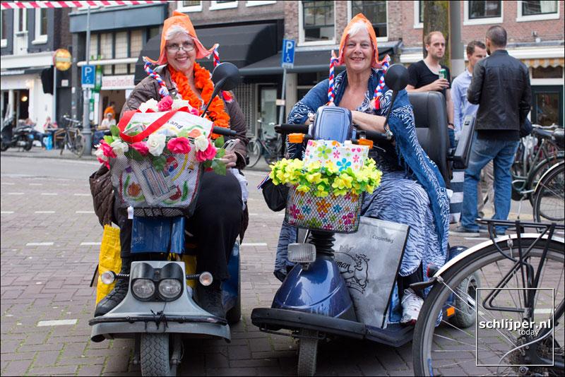 Nederland, Amsterdam, 25 april 2014