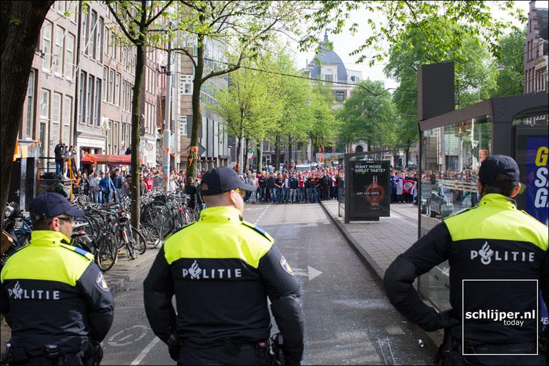 Nederland, Amsterdam, 27 april 2014