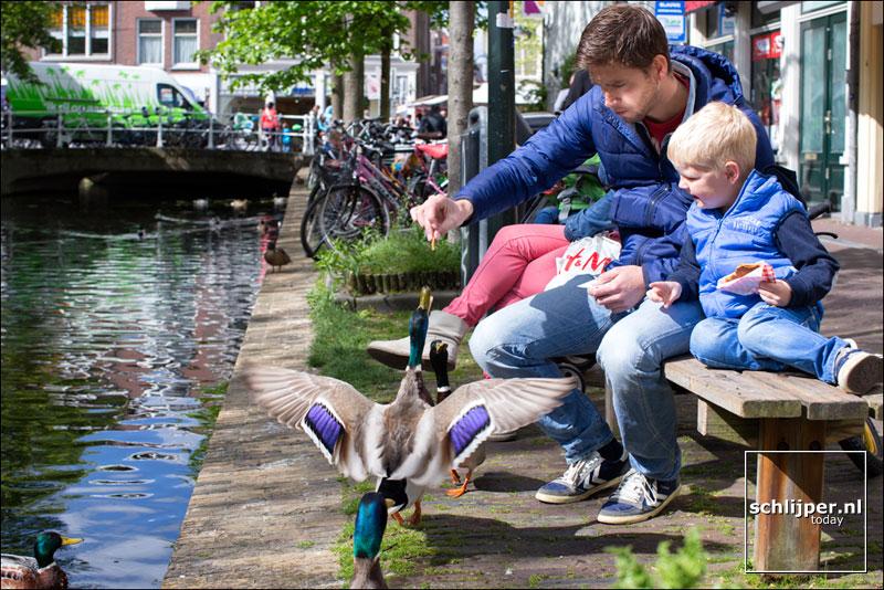 Nederland, Delft, 3 mei 2014