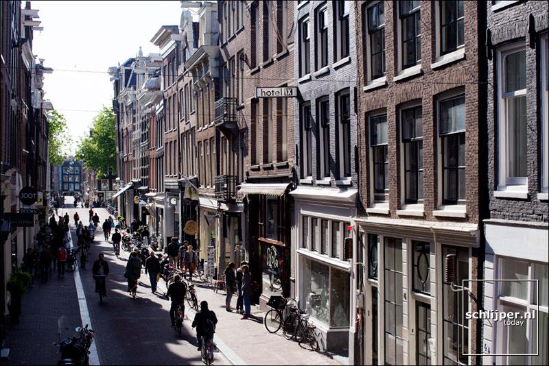 Nederland, Amsterdam, 15 mei 2014