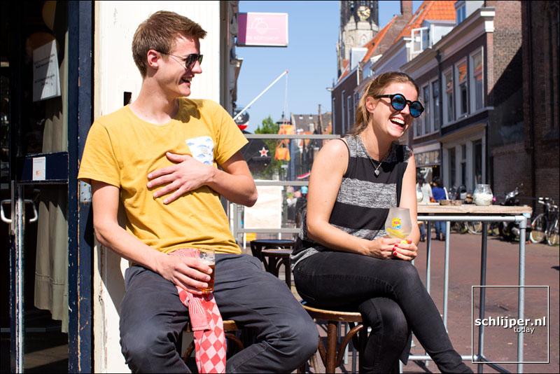 Nederland, Delft, 17 mei 2014