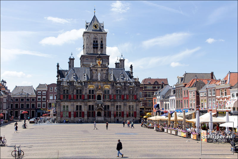 Nederland, Delft, 7 juli 2014