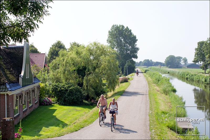 Nederland, Hoogwoud, 10 juli 2014