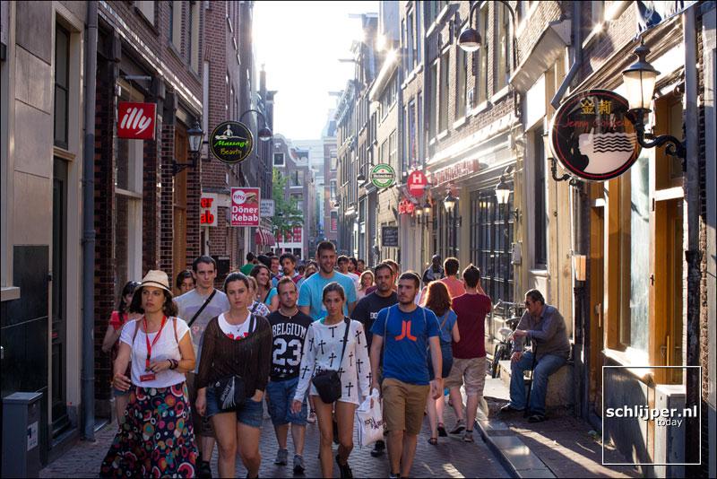 Nederland, Amsterdam, 24 juli 2014
