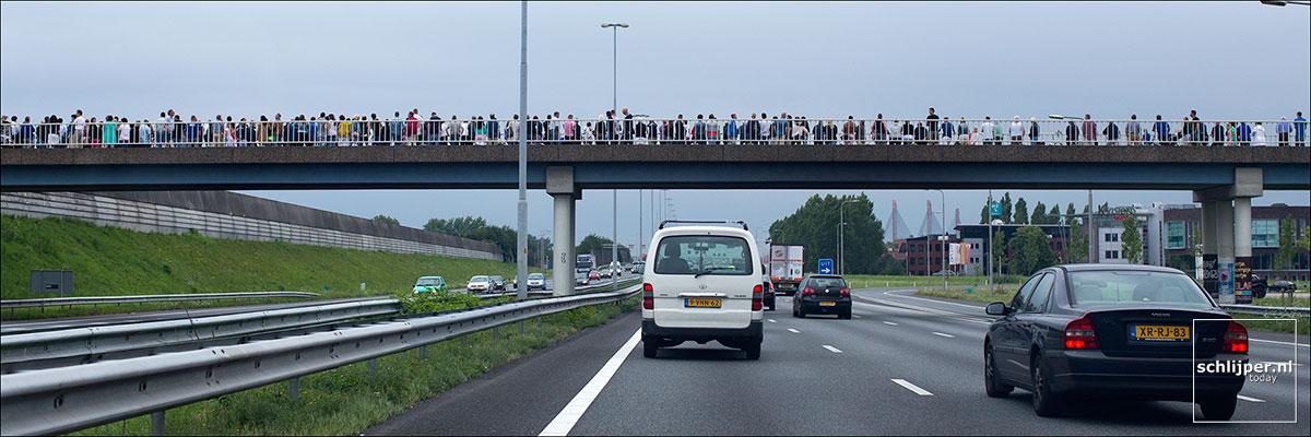 Nederland, Waardenburg, 25 juli 2014