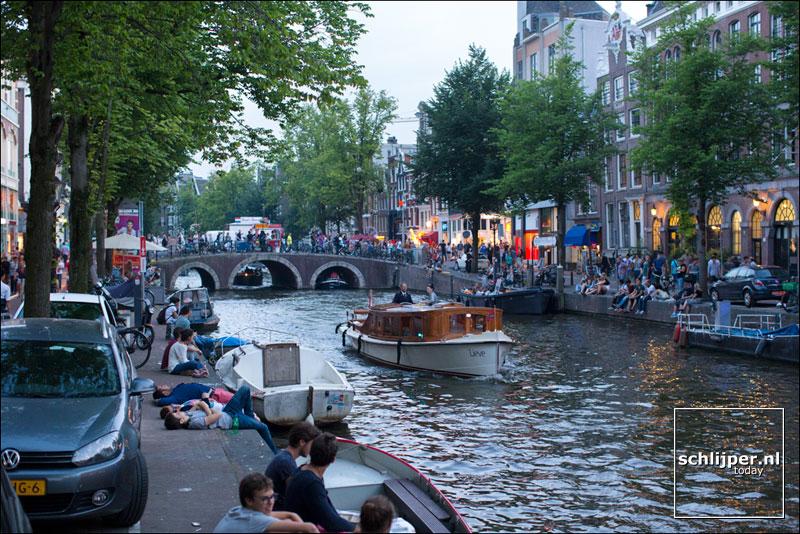 Nederland, Amsterdam, 1 augustus 2014