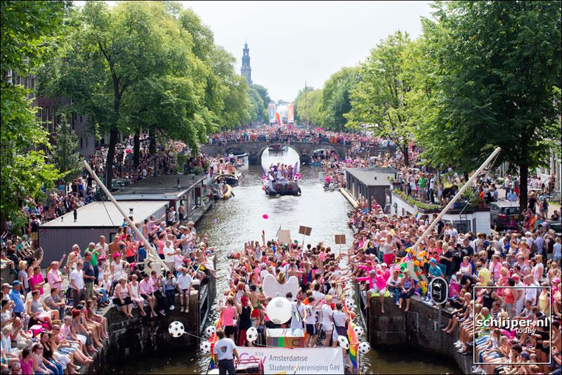 Nederland, Amsterdam, 2 augustus 2014
