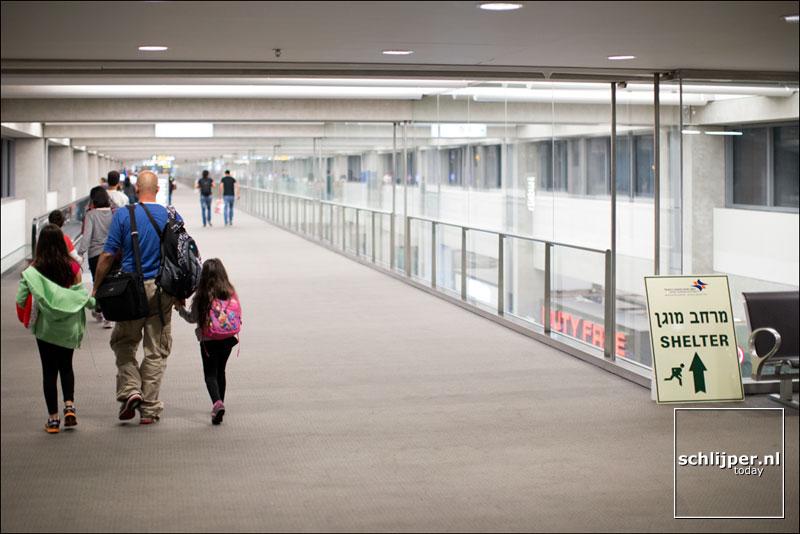 Israel, Ben Gurion Airport, 16 augustus 2014