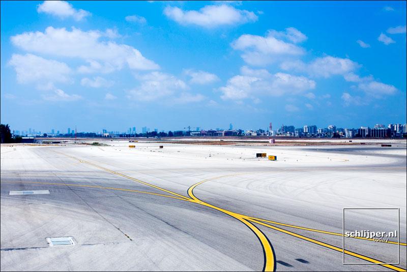 Israel, Ben Gurion Airport, 22 augustus 2014