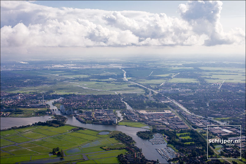 Nederland, Wormerveer, 22 augustus 2014