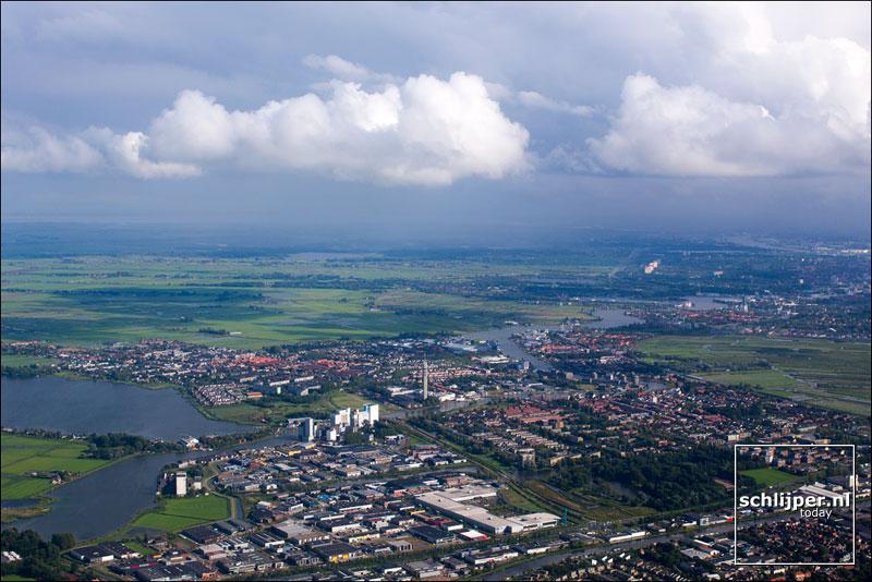 Nederland, Wormer, Wormerveer, 22 augustus 2014