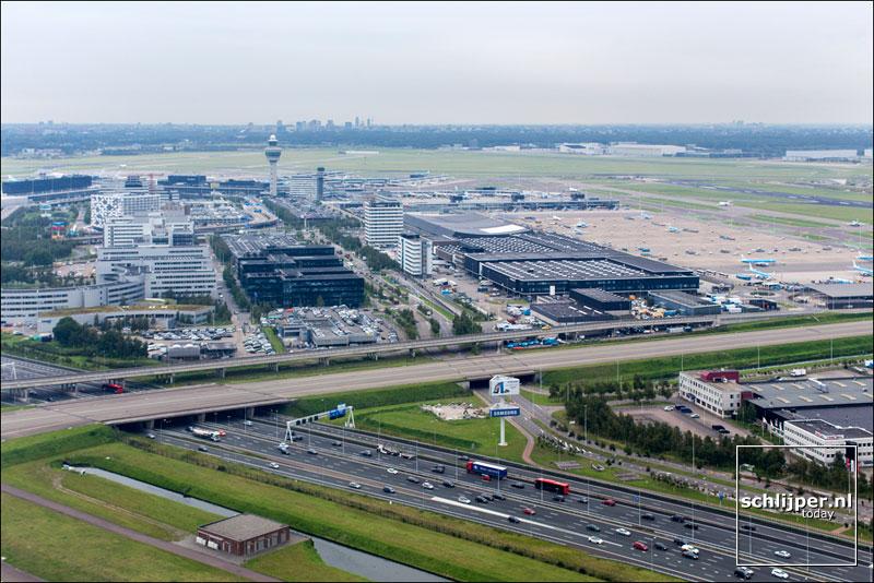 Nederland, Schiphol, 25 augustus 2014
