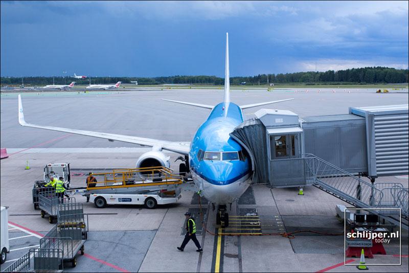 Zweden, Stockholm Arlanda Airport, 25 augustus 2014