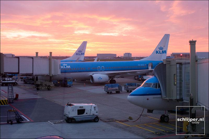 Nederland, Schphol, 7 november 2014