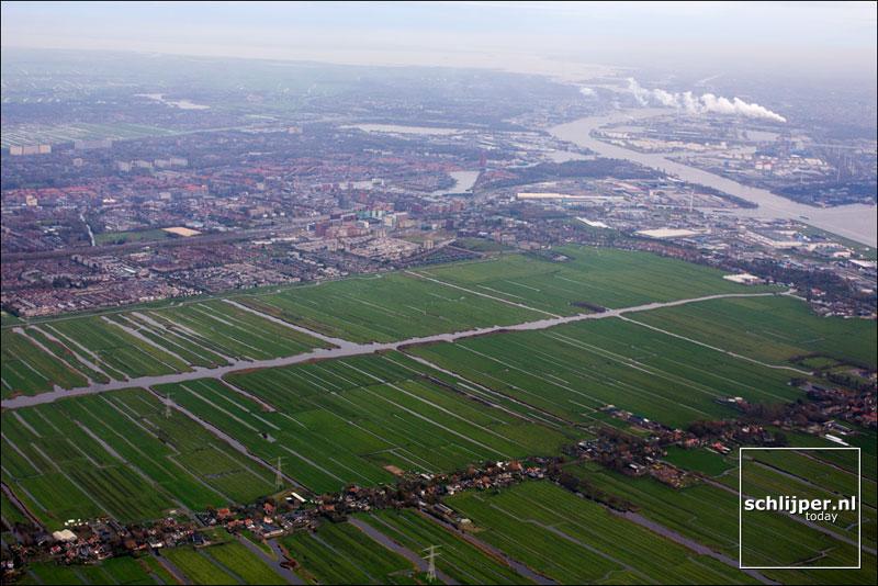 Nederland, Zuideinde, Zaandam, 12 november 2014