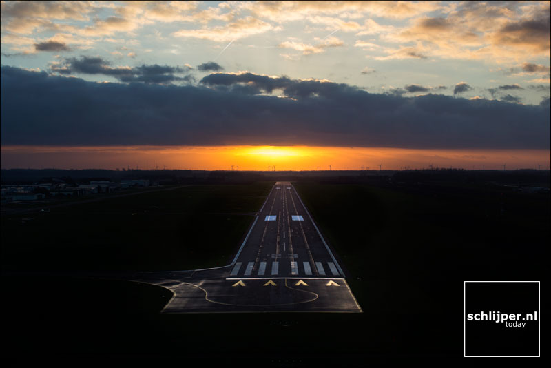 Nederland, Lelystad Airport, 30 december 2014