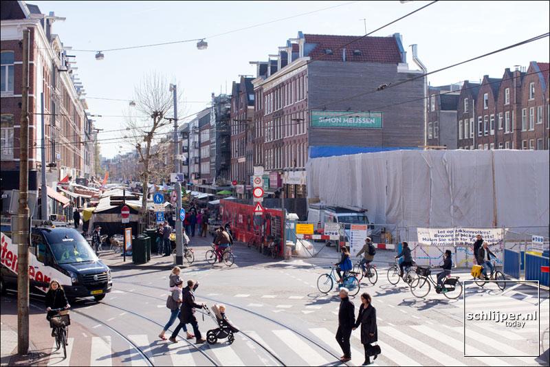 Nederland, Amsterdam, 20 april 2015