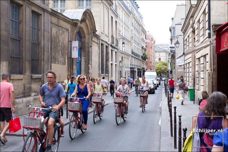 Frankrijk, Parijs, 11 augustus 2015