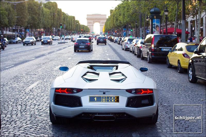 Frankrijk, Parijs, 21 augustus 2015