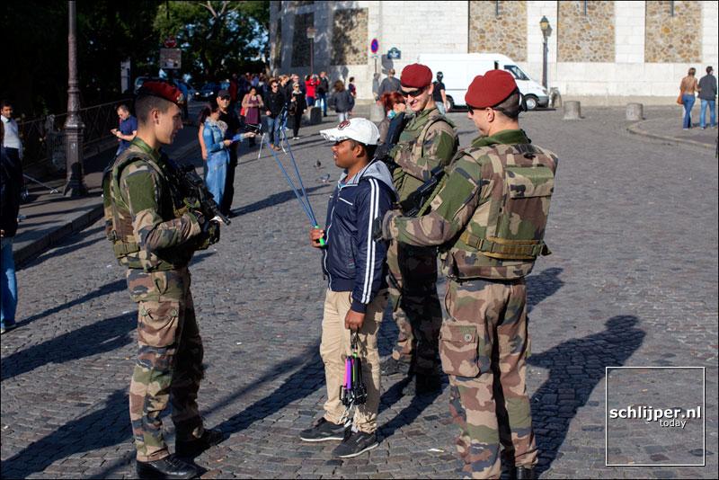 Frankrijk, Parijs, 5 september 2015