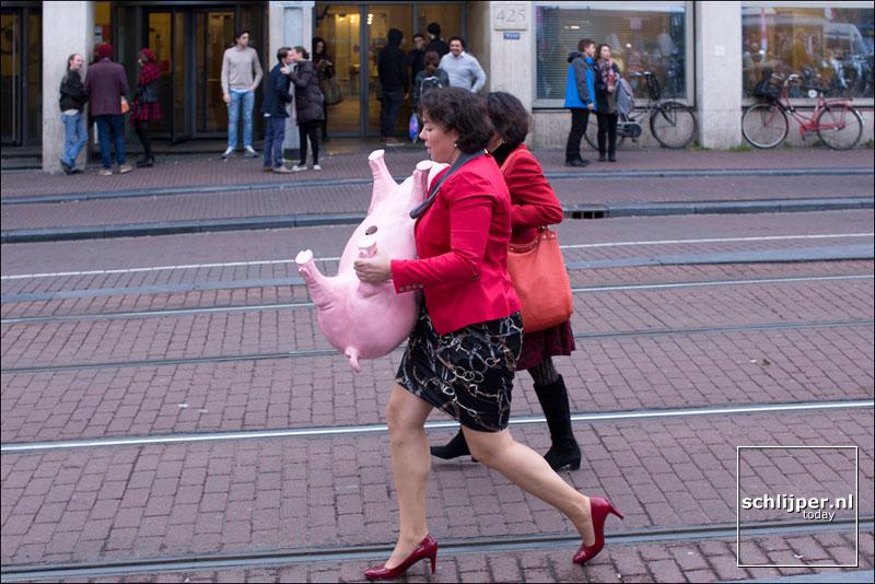 Nederland, Amsterdam, 6 november 2015