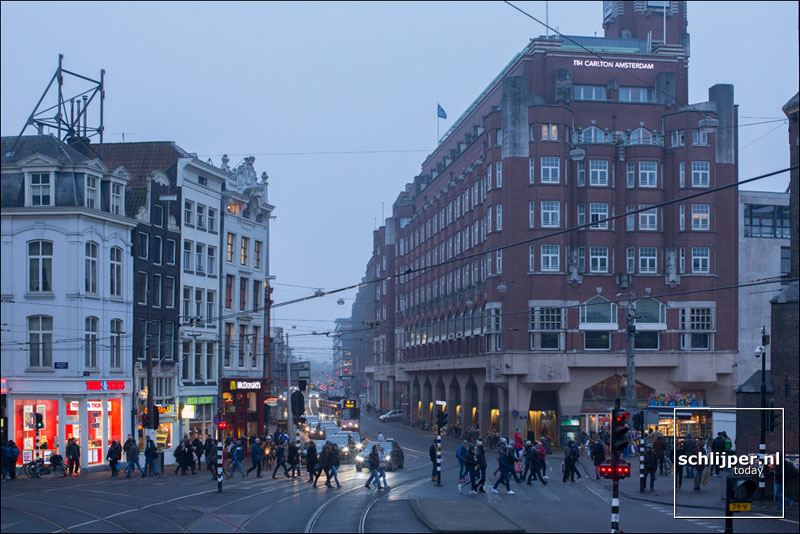 Nederland, Amsterdam, 21 januari 2016