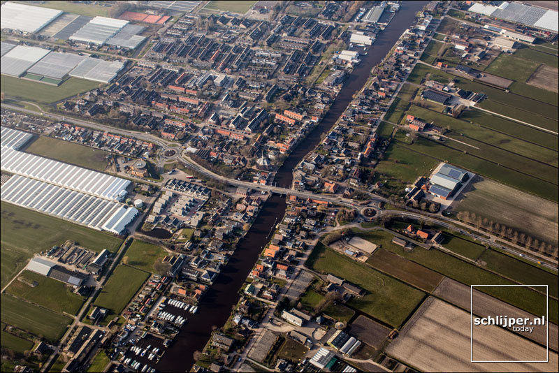 Nederland, Woubrugge, 14 maart 2016