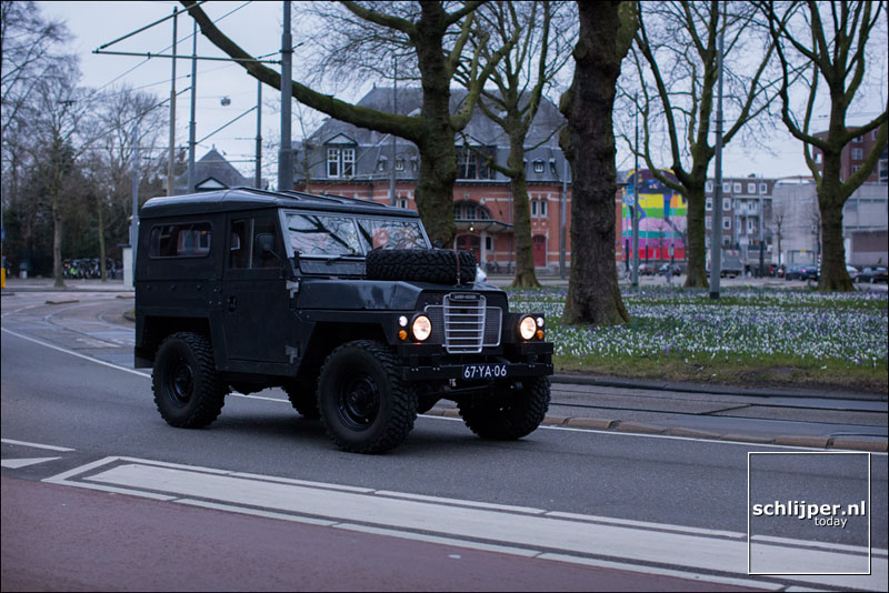 Nederland, Amsterdam, 18 maart 2016