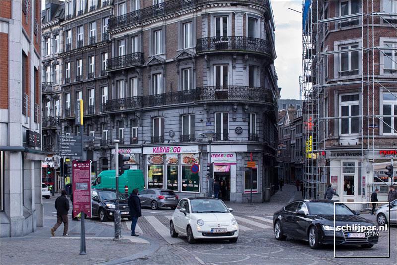 Belgie, Luik, 28 maart